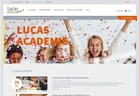 Website Lucas Academie is online